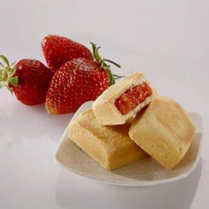 草莓酥12入(蛋奶素)