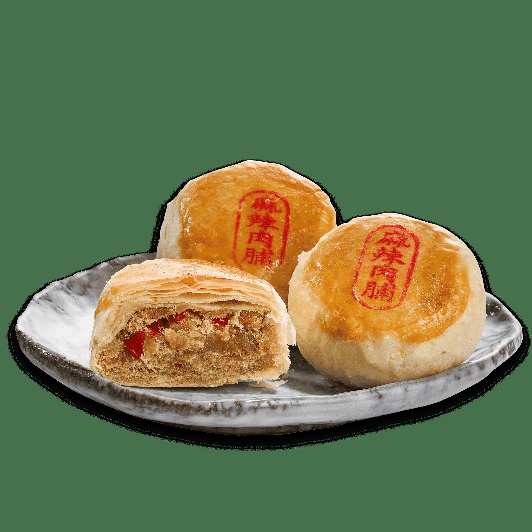 麻辣肉脯餅8入 (葷)